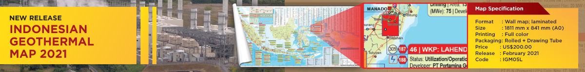 INDONESIAN GEOTHERMAL MAP 2021